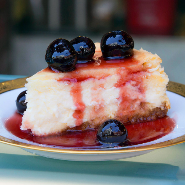 Italian Cherry Cheesecake